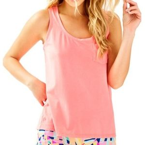 XS Lilly Pulitzer Crayton Racer Back Tank Top